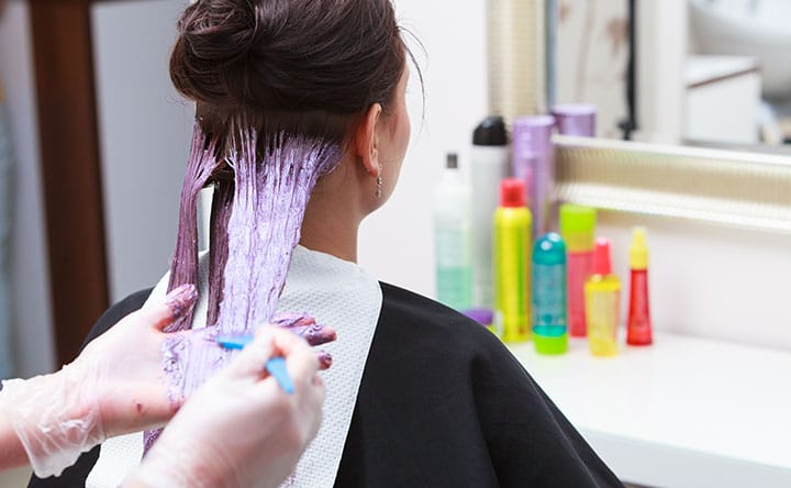 The strength of semi-permanent dye impacts how long it takes for it to wash out