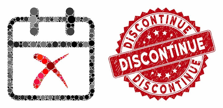 Write the company about discontinued beauty products