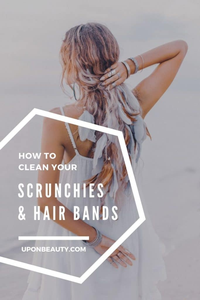 How to clean scrunchies and hair bands