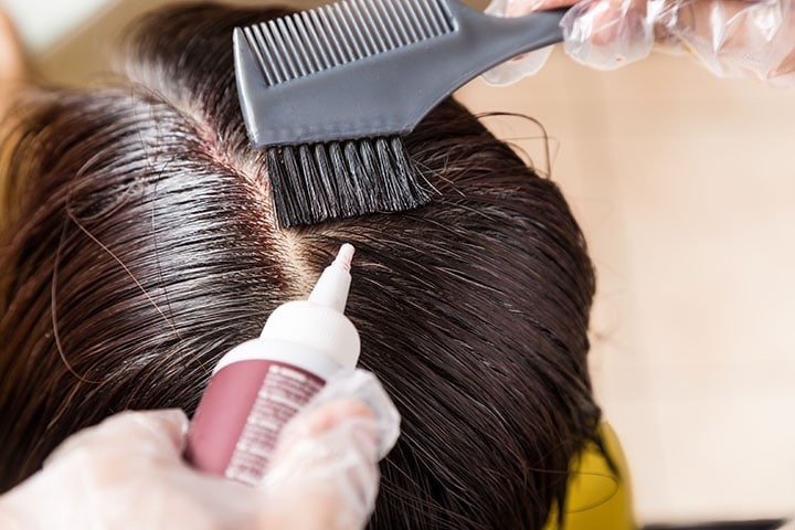 The Secret of Coloring Hair Roots