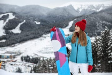 Girl wondering why high altitudes are affecting her skin