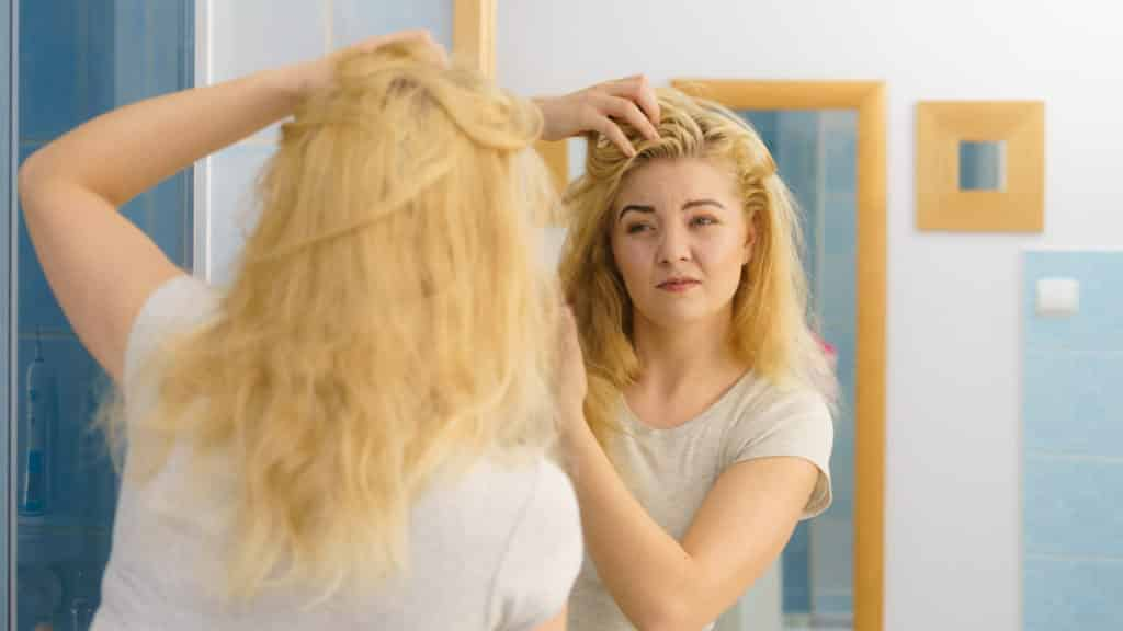Common mistakes when bleaching your hair at home Doing your whole head instead of just the roots