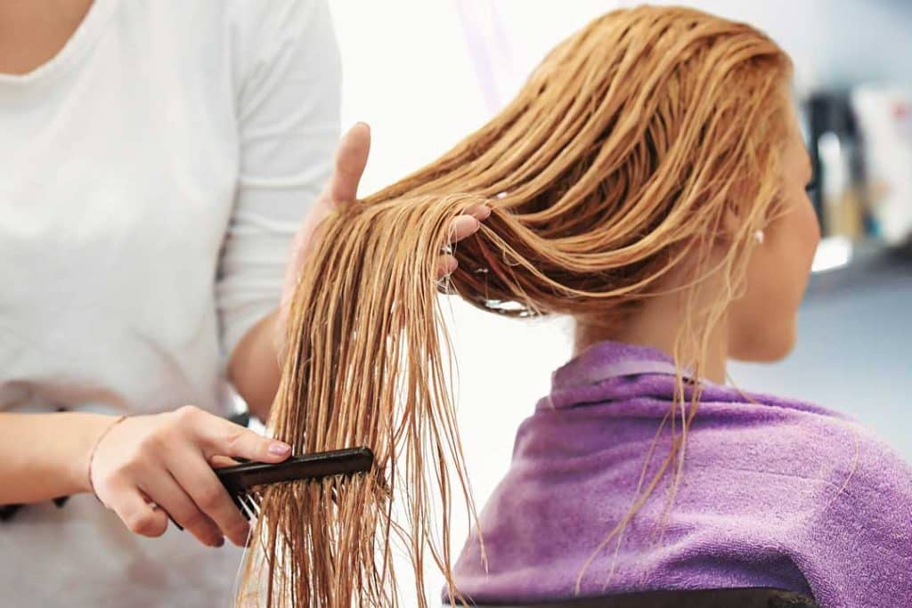 What to do if you left bleach in your hair for too long