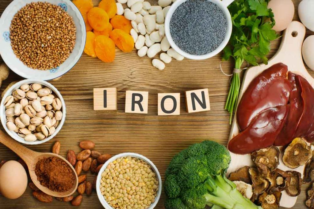 Consume iron-rich foods to rmove dark circles under your eyes